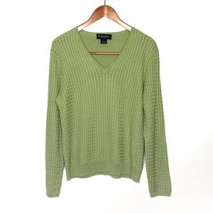 Brooks Brothers Green Sweater